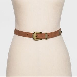 Women's Western Belt ~ Cognac